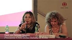 Dott.ssa Debora Diodati - Presidente Croce Rossa Italiana di Roma